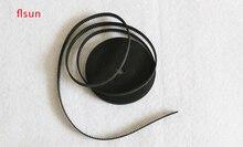 Factory Supply 3D printer accessories 2GT-6mm rubber belt GT2 belt 3d printer belt 5m/bag