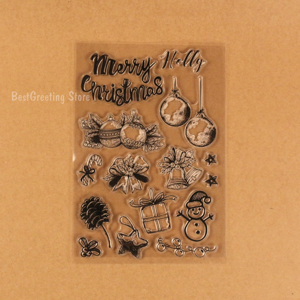 Christmas Tree Decoraion Stamps Christmas Ornament,ring