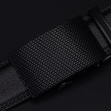 Mens Luxury Genuine Leather Automatic Buckle Belt