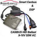 Flash OEM 2 UNIDS 100% DSP y Decodificador Inteligente Delgado Xenon HID Canbus Lastre 55 W AC