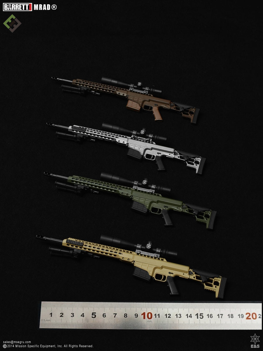 1:6 Scale Figure accessories Plastic toys Barrett model MRAD MSE0001 for 12 Action figure doll,not include doll and other neil barrett футболка