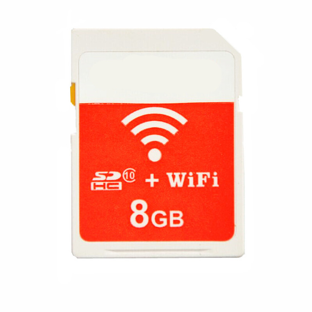 Image 2 - New!!! WIFI SD CARD 8GB SDHC Memory Card + WiFi SD to Type II Compact Flash Card Ultimate CF Adapter-in Memory Cards from Computer & Office