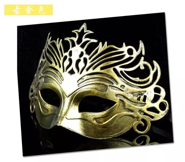 codici promozionali Acquista i più venduti informazioni per US $7.99 |Halloween Party Cosplay degli uomini retrò di plastica masquerade  maschere Eleganti di Roma cavaliere della mascherina Del Partito Maschera  ...