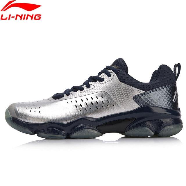 Li-Ning Men SONIC BOOM Badminton Shoes Wearable Anti-Slippery LiNing Breathable Sport Shoes Sneakers AYZN009 XYY072