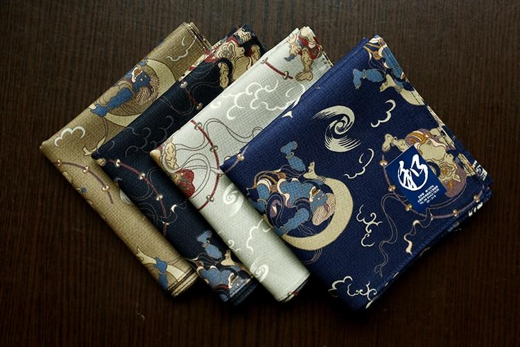 Nippon Men's Wind Handkerchief Cotton Thick 52*52cm