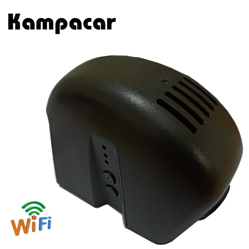 Kampacar Registratori Auto Câmera De Vídeo Wi-fi Dvr Carro Para Audi A4 b6 b7 b8 A6 c5 c6 c7 Q5 Q7 q3 A7 A8 R8 2015 2017 2018 Traço Cam