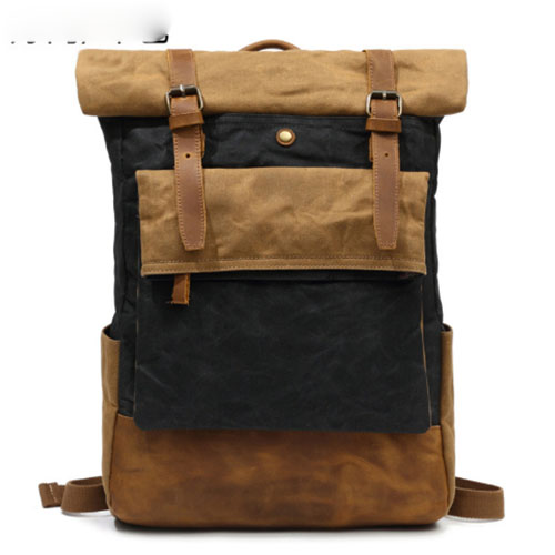 все цены на Hot Selling Men Canvas Backpack Fashion High Capacity Brand Famous Women Backpack Solid Color Casual Travel Man Backpacks Bag