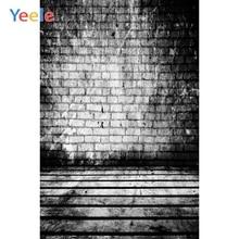 Yeele Photocall Retro Bricks Wall Wood Floor Grunge Photography Backdrops Personalized Photographic Backgrounds For Photo Studio