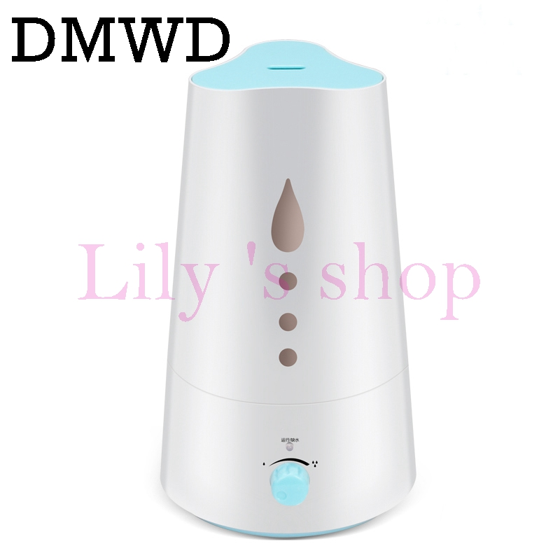 DMWD 3L household Electric humidifier Air Purifier Aroma Diffuser Essential oil diffuser Aromatherapy Mist Maker Fogger dmwd electric ultrasonic humidifier essential oil diffuser lamp aromatherapy mist maker fogger air purifier led night light 24v