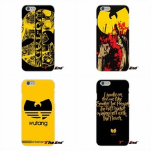 For Wu Tang Clan Music Band Logo Silicone Phone Case For iPhone X 4 4S 5 306118c4eeff