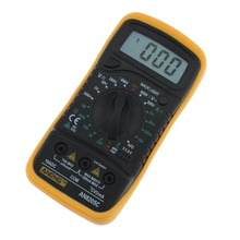 Professional Digital Multimeter AN8205C LCD Display Digital Multimeter AC/DC Thermometry Ammeter Voltmeter Ohm Meter Tester цена в Москве и Питере