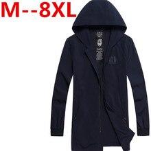 2017 new arrival mens autumn jacket male outerwear men's fashion clothing extra large plus size 3XL 4XL 5XL 6XL 7XL 8XL