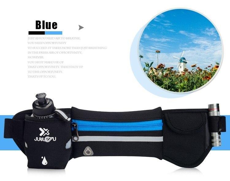 Outdoor Women&Men Hydration Belt For Trail Running Hip Waist Pack Gym Fitness Jogging Waist Bag Water Bottle Sport Accessories 18