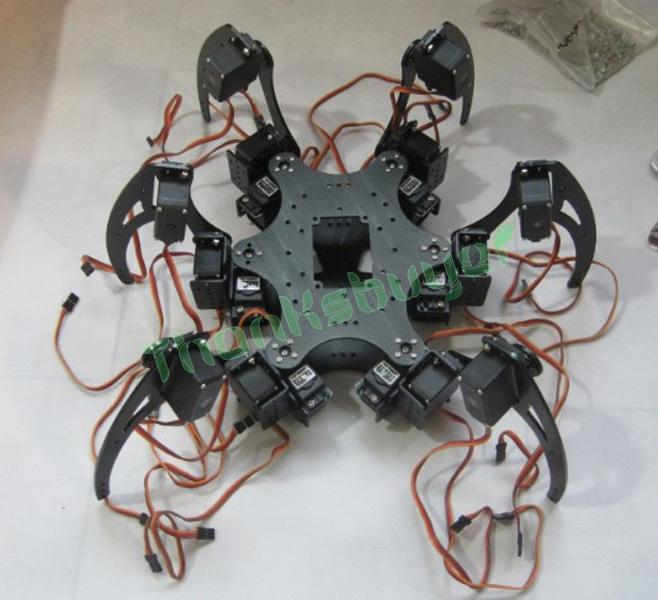 Consumer Electronics 20dof Aluminium Hexapod Robotic Spider Six Legs Robot With Claw & Ld-1501 Servos & Controller Low Price Smart Remote Control