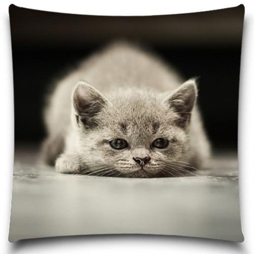 Warm Pillow Cover Geometric Animal Monkey Parrot Swan Cotton Linen Throw Pillows 17 3 X
