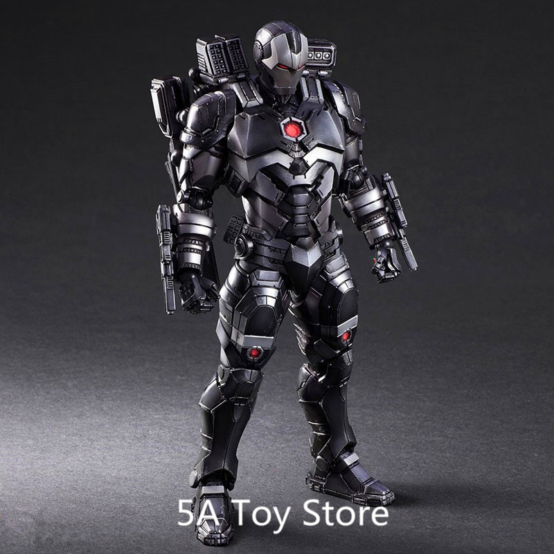 Play Arts Figure Avengers 3 infinity War War Machine Iron Man 1/6 Scale Painted PVC Action Figure Collectible Model Toys 27CM play arts kai marvel avengers infinity war super hero iron man war machine pvc action figure collectible model toy