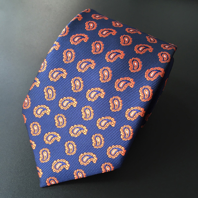 Corbata de moda para hombre corbata casual de negocios flores de - Accesorios para la ropa - foto 5