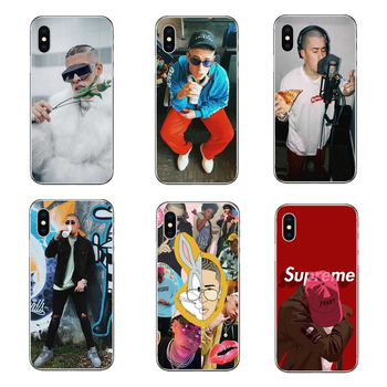 Bad Bunny Maluma Ozuna POP Hip Hop Rapper Hard thin transparent cover Case for iPhone 5 5S SE 6 6S 7 8 X Plus Coque Fundas Capa  gadget