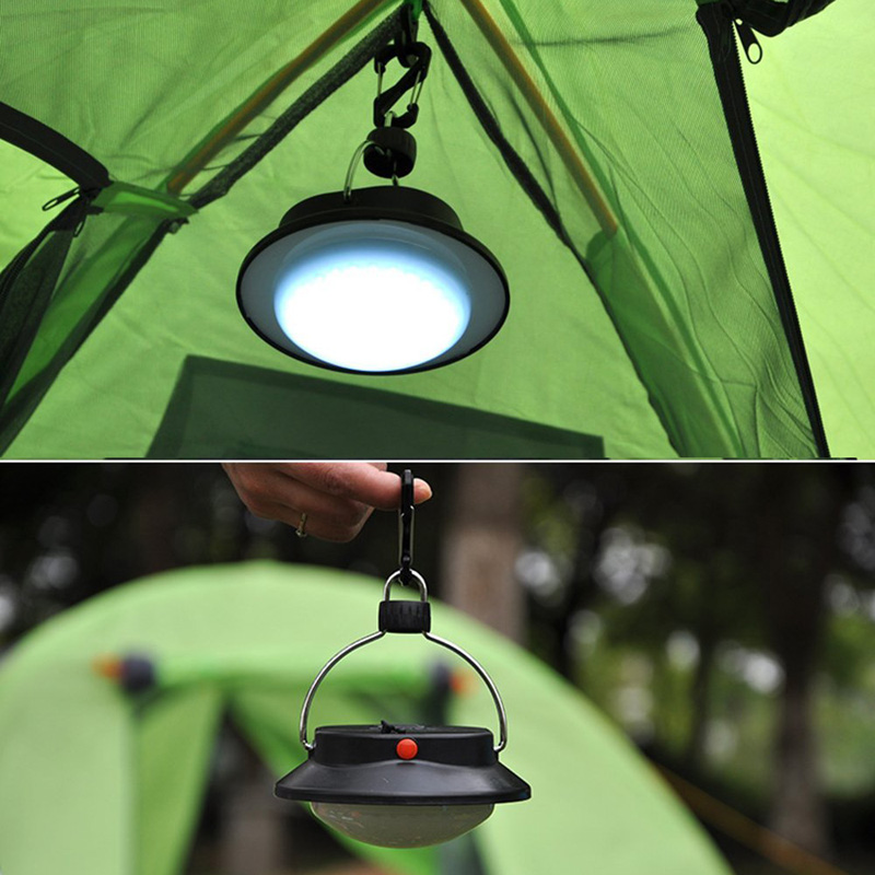 60 LEDs 3 Mode Bivouac Portable Sailing Camp Lantern Lamp Durable Outdoor Camping LED Light B2C Shop