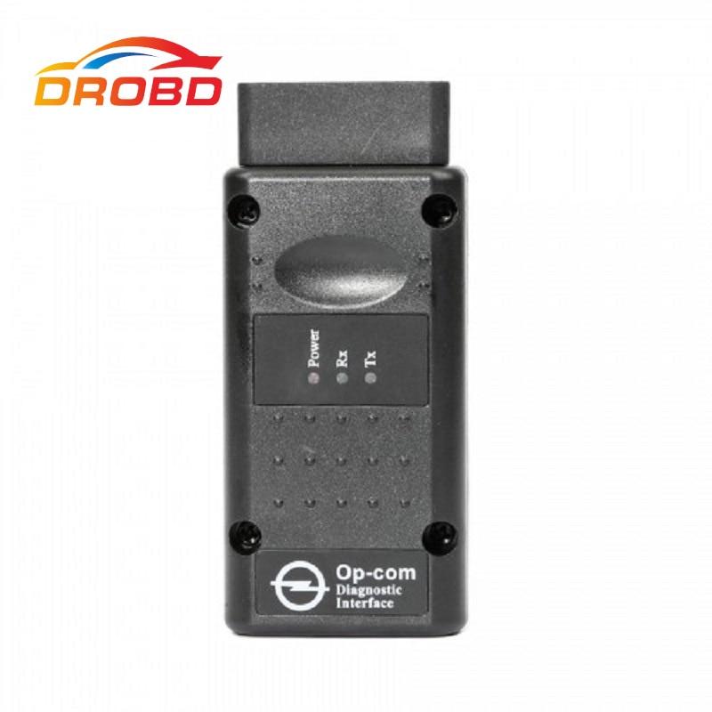 V1.70 Version OP COM Diagnose Werkzeug OBD2 Scanner mit Echt PIC18F458 Chip OP-COM/OPCOM Für OPEL VAUXHALL Unterstützung Flash firmware