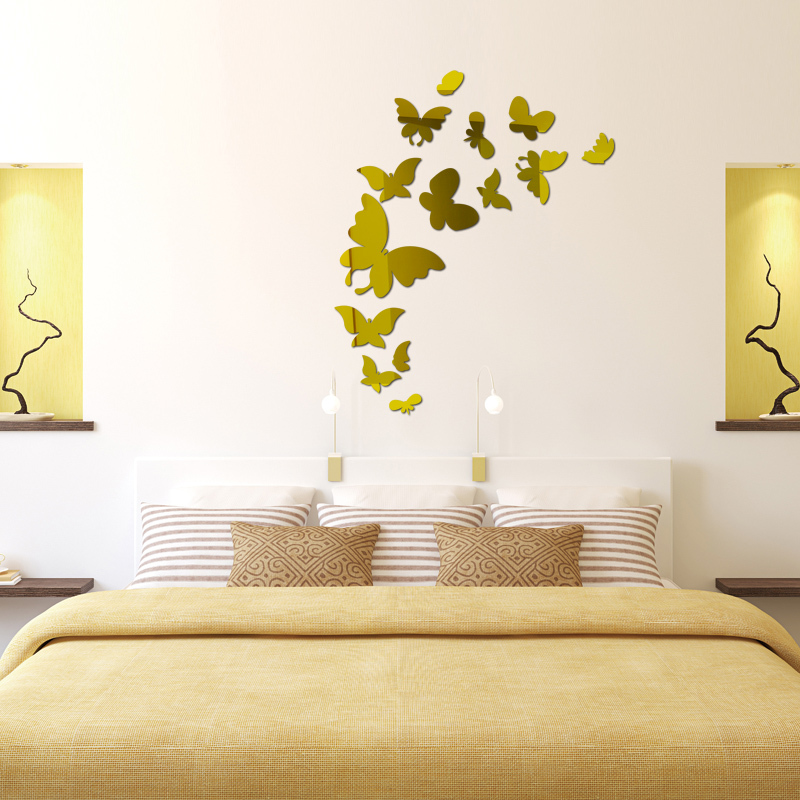 Amazing How To Make A Butterfly Wall Decoration Photo - Wall Art ...