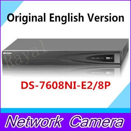 8CH 8PoE NVR 7608NI E2 8P Original English Version