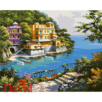 Frameless Pictures Painting By Numbers DIY Digital Oil Painting On Canvas Home Decoration 40x50cm MS8533 Other