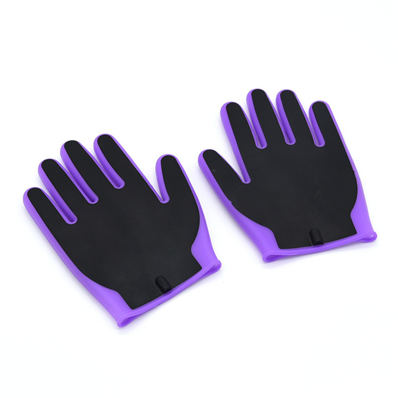 Loyal New Style Electro Shock Silicone 1/pair Gloves Body Massage Stimulation Electric Shock Adult Game Sex Toys For Men Sex Machine High Standard In Quality And Hygiene Beauty & Health Sex Products