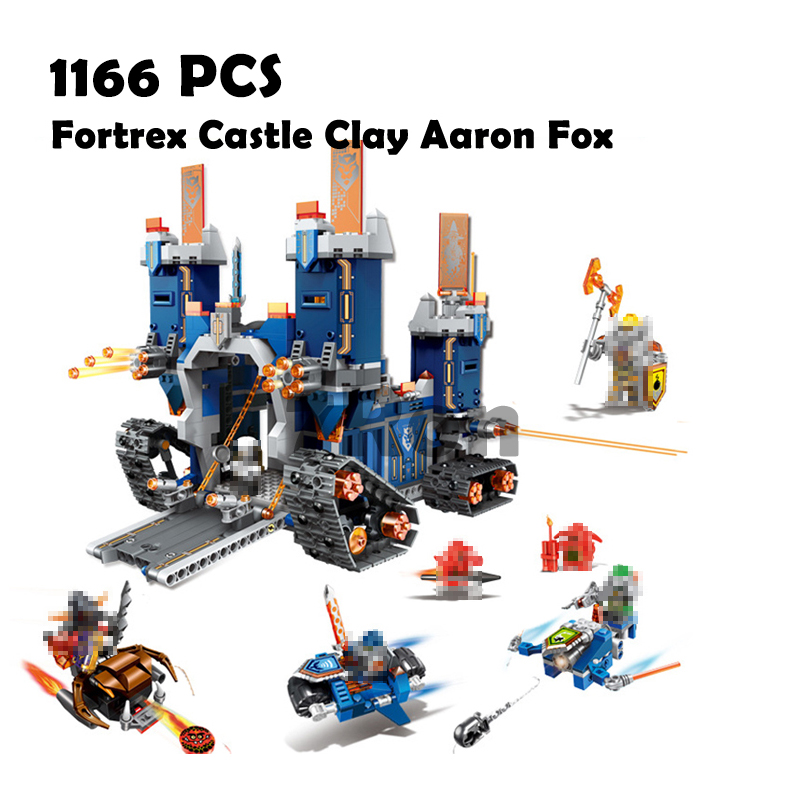Compatible with lego Nexus Knights 70317 Models building toy 79241 Fortrex Castle Clay Aaron Fox Building Blocks toys & hobbies bela nexus knights building blocks toy set lance s mecha horse gifts toys compatible with 70312 knights robotics mindstorm