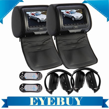Sony Lens 7 HD universal LCD Car Auto Headrest CD DVD video Player Monitor Wireless car