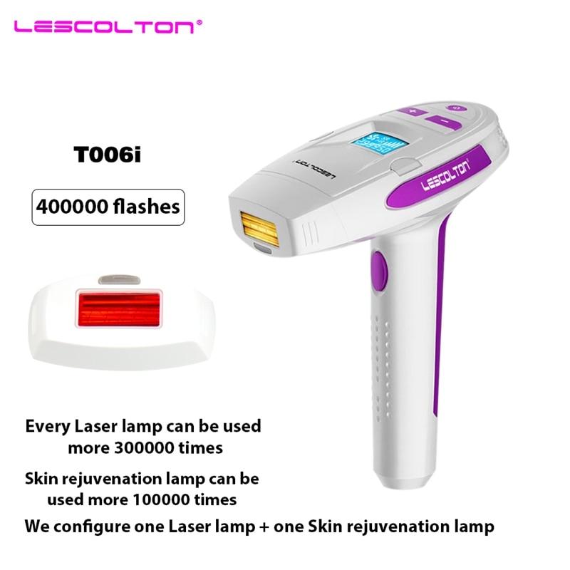 ヾ ノlescolton 400000 Times 2in1 Electric Epilator Ipl Laser
