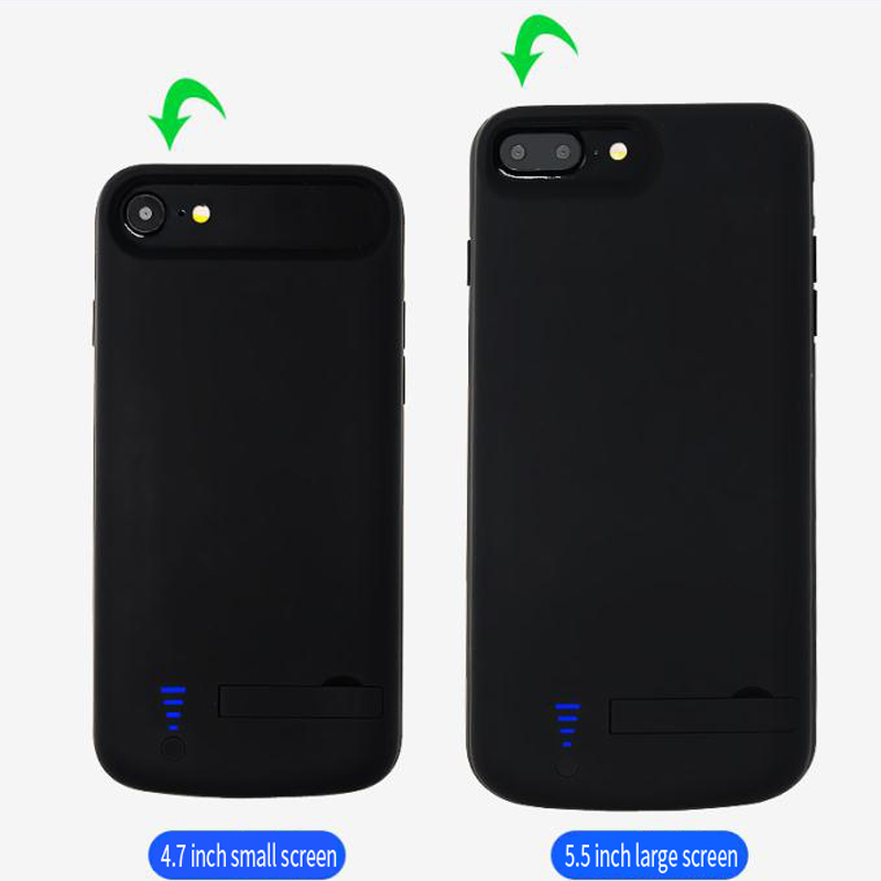 best sneakers 62a6e 860e3 Battery Charger Case For iPhone 6 6S 7 8 Plus 8000 mAh Power Case Smart  Portable Power Bank For iPhone Charging Case Cover
