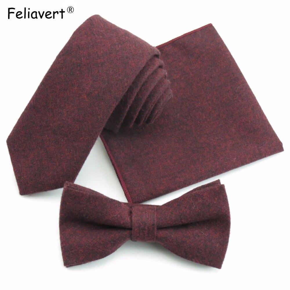 Mens Necktie Moda Qatı Rəngli Yumşaq Pambıq 5.5 sm qalstuk + - Geyim aksesuarları - Fotoqrafiya 1