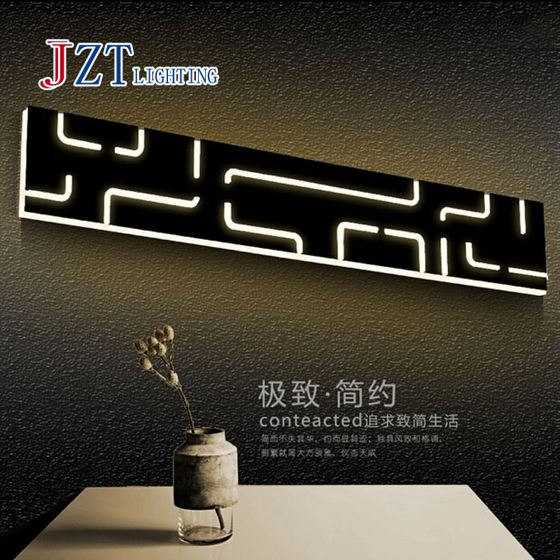 Z Modern Creative Design Wall Lamp Rectangle Personality Acryl LED Chip Light Aisle Bedside Sittingroom Study Lamp Free Shipping classic modern soap bubble creative wall lamp bedroom study bedside soap bubble wall light free shipping