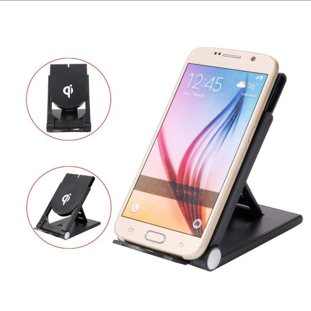 5 W Tề Tiêu Chuẩn Có Thể Gập Lại Đế Sạc Không Dây/Máy Tính Để Bàn Đế Sạc Cho Điện Thoại Thông Minh/Máy Tính Bảng Dành Cho iPhone Samsung xiaomi