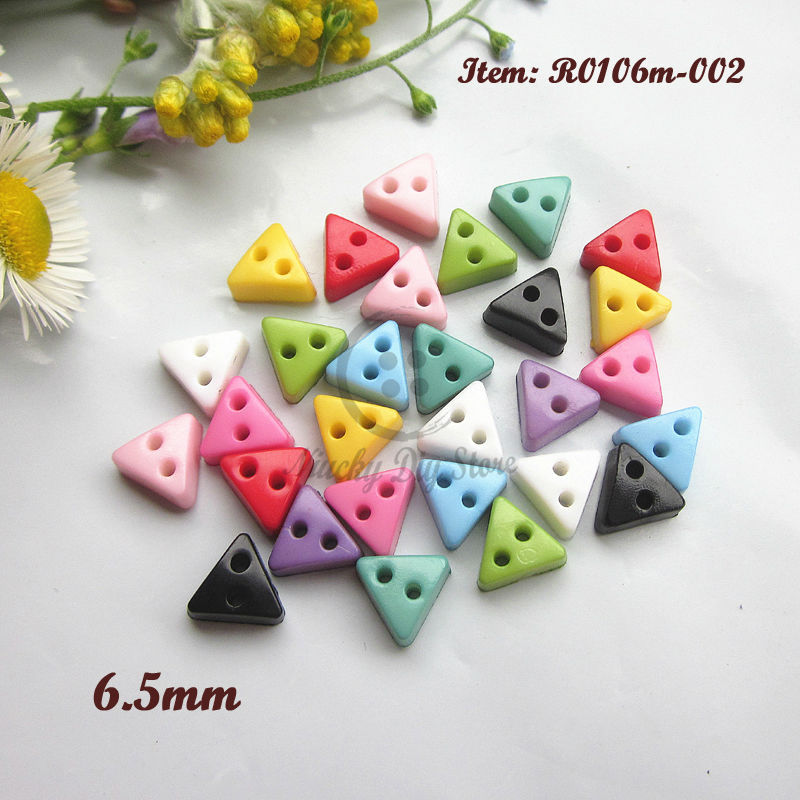 Buy mini buttons 144pcs triangles for Decorative buttons for crafts