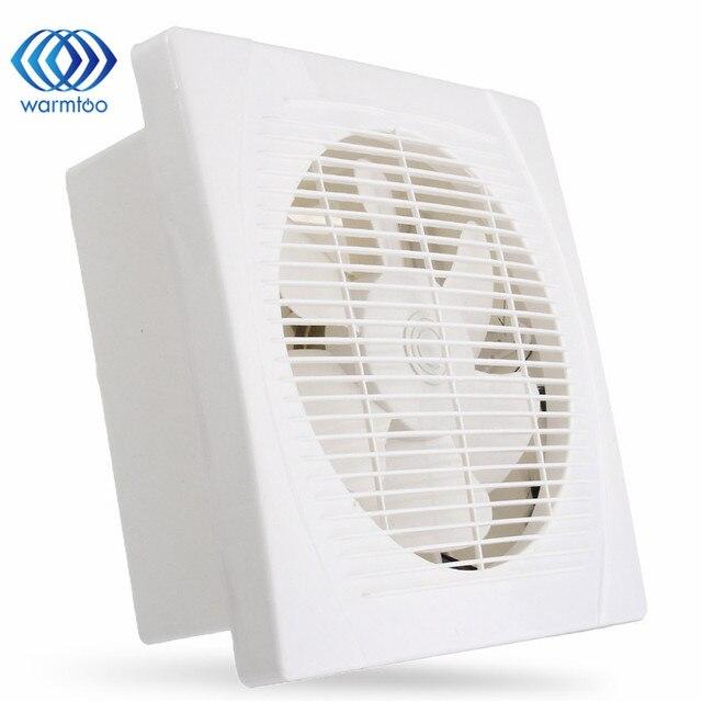 Genial 220V 30W 8 Inch White Ventilation Extractor Exhaust Fan Blower Window Wall  Kitchen Bathroom Toilet Fan