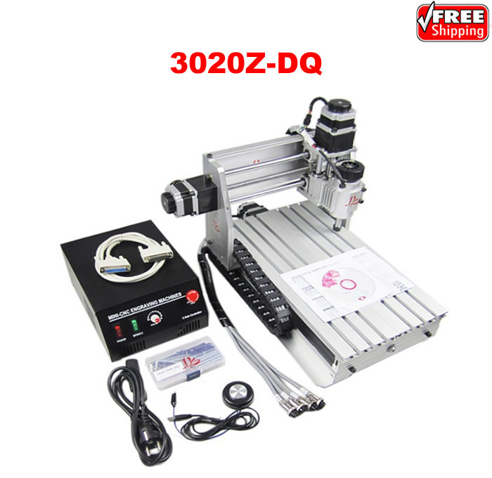 3020Z-DQ CNC engraving machine with ball screw and tool auto-checking instrument upgraded from 3020T cnc 3040z dq 3 aixs with ball screw engraving machine