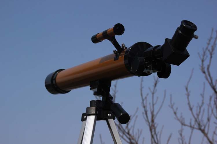 Astronomical Telescope Monocular 600/50mm 100X Magnifications Zenith mirror with H12 H6MM eyepiece sighting telescope 4X18