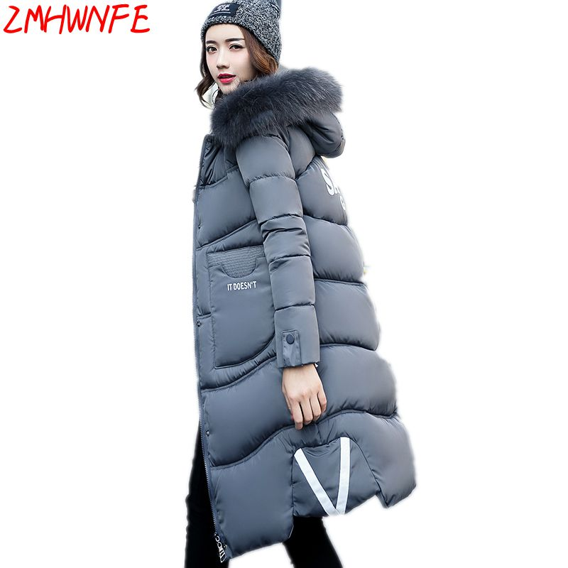 2017 Real Direct Selling Ukraine Winter Coat Cotton Women Long Section Hats Hooded Windbreaker Casual Large Collar Warm Jacket 2017 ukraine exclusive custom winter coat magic cloth dolls and original sweet bunny ears hooded casual loose lovely cotton