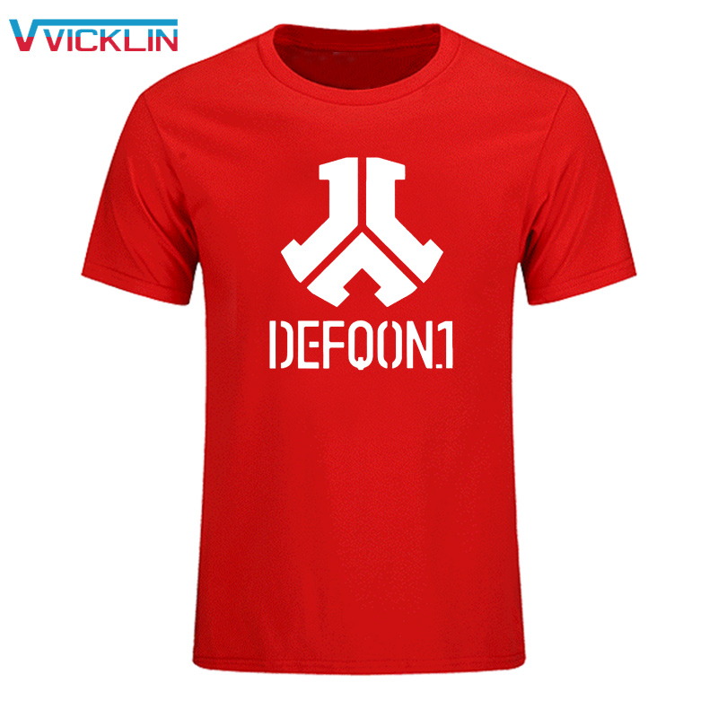 Defqon 1 Puur Katoen Designer T-shirt Mannen Custom Tshirts Hiphop - Herenkleding - Foto 3