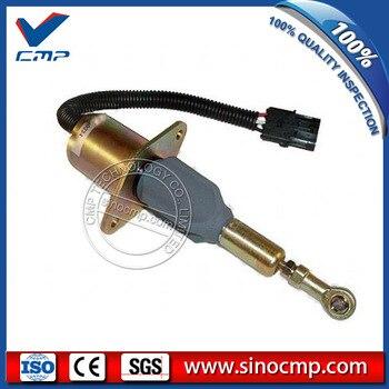 24 v válvula solenóide de parada de combustível 6BT 6CT SA-4335-24, 3930234 para cummins escavadeira