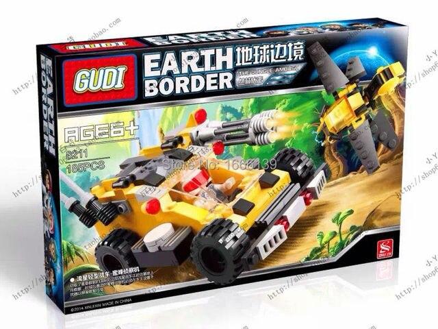 US $18 49 |On Stock GUdi bricks star wars 8211 The meteor light chariots  building blocks bricks toys children-in Blocks from Toys & Hobbies on