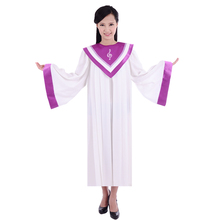 Christian Church choir singing Robe gown clothing apparel women's Christian high quality gown robe costumes