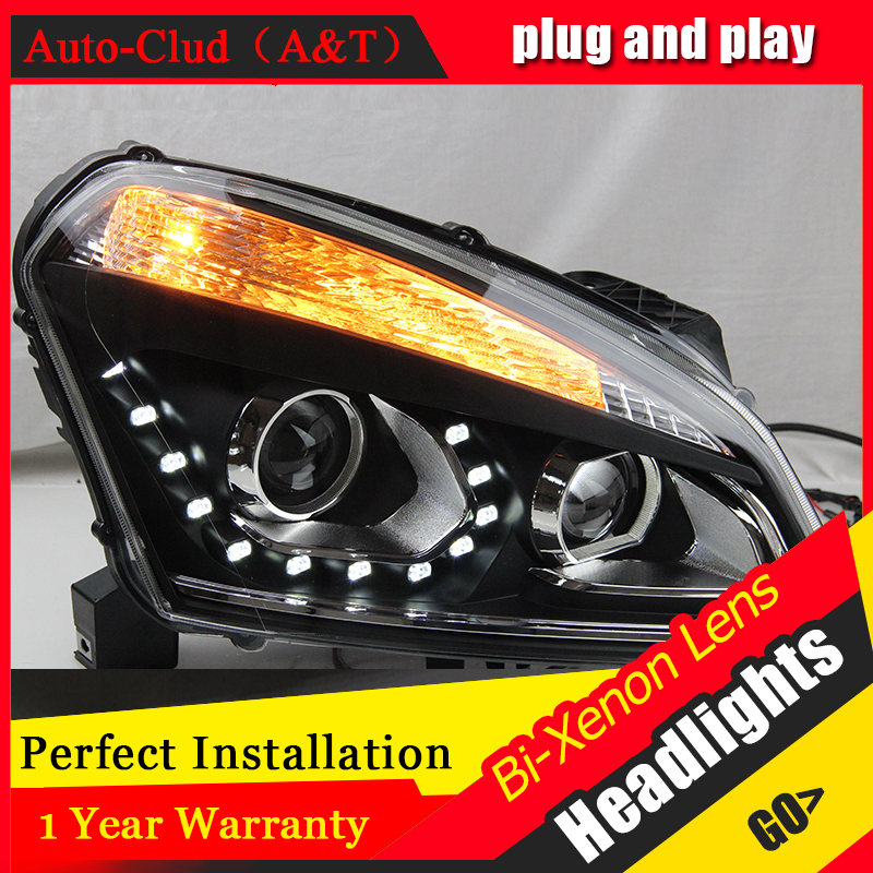 Car Styling Head Lamp case for Toyota Corolla 2014 LED Headlights DRL Daytime Running Light Bi-Xenon HID Accessories