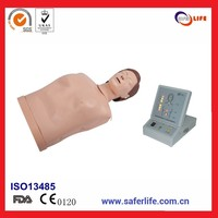 2017 Comprehensive first aid emergency skills trainning medical advanced half body cpr training manikin