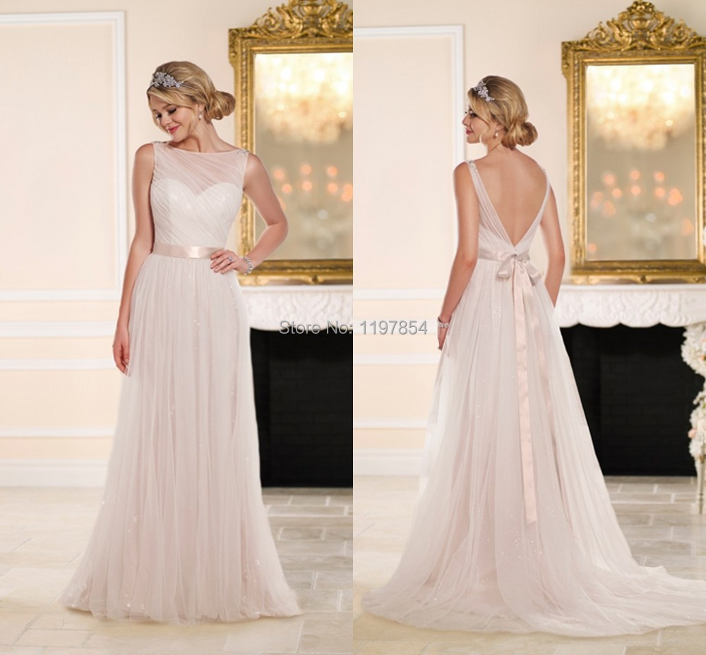 Buy Plain Simple White Chiffon Wedding