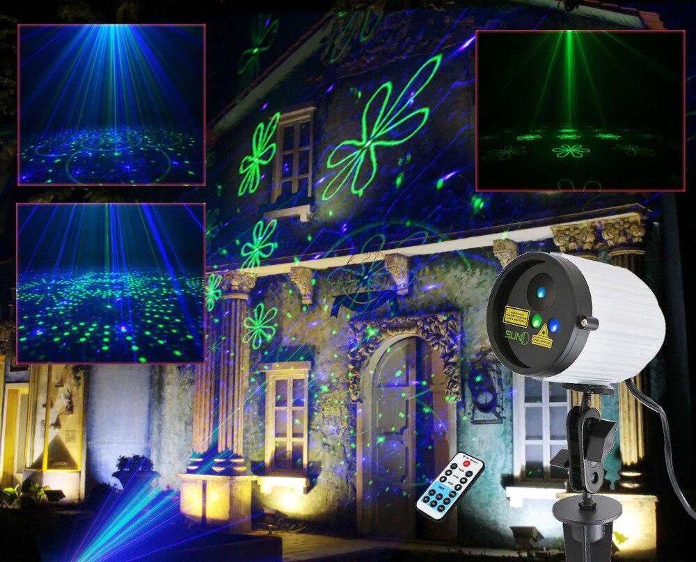 Suny Outdoor Waterproof Light Laser Projector Green Blue