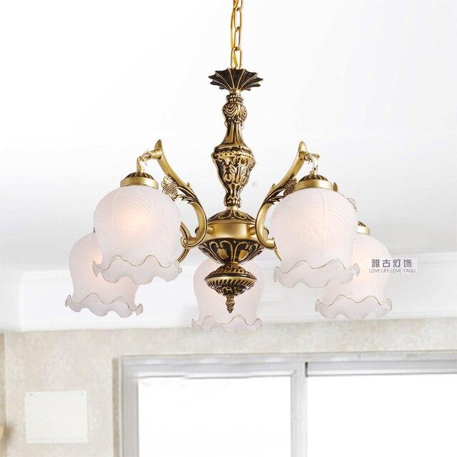 aliexpress koop bronskleur hanglamp hanglamp slaapkamer lamp