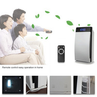 Digital Touch Screen Air purifier Support Ozone Generator Oxygen Bar Office Air Purifier Ionizer Home Use Air Cleaner